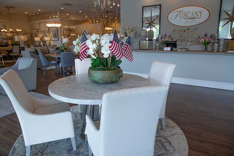 Hooker Furniture Dining Room Set at Tuscany Fine Furnishings in Roswell, GA