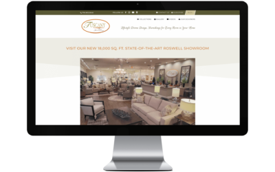 Tuscany Fine Furnishings Launches First New Age Website for Design and Interiors!