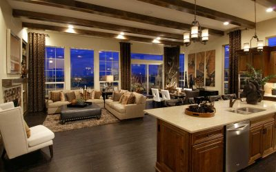 Defining An Open Space with Home Furniture & Decor Elements