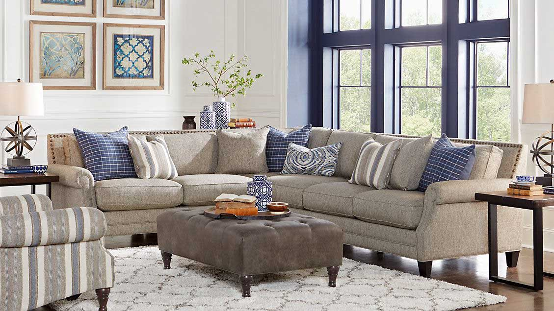 properly placed living room furniture